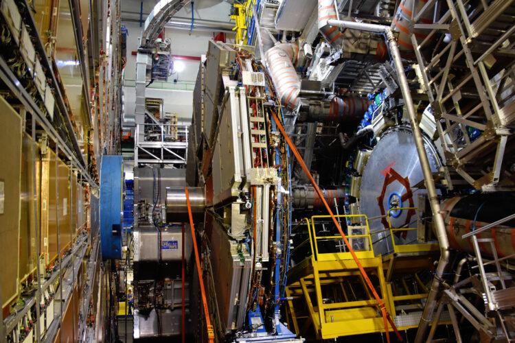 De Atlas detector (foto: CERN)