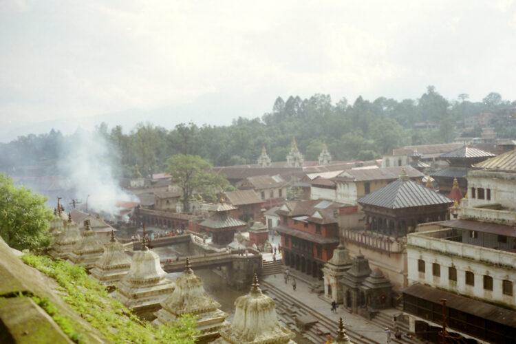 Crematie in Kathmandu