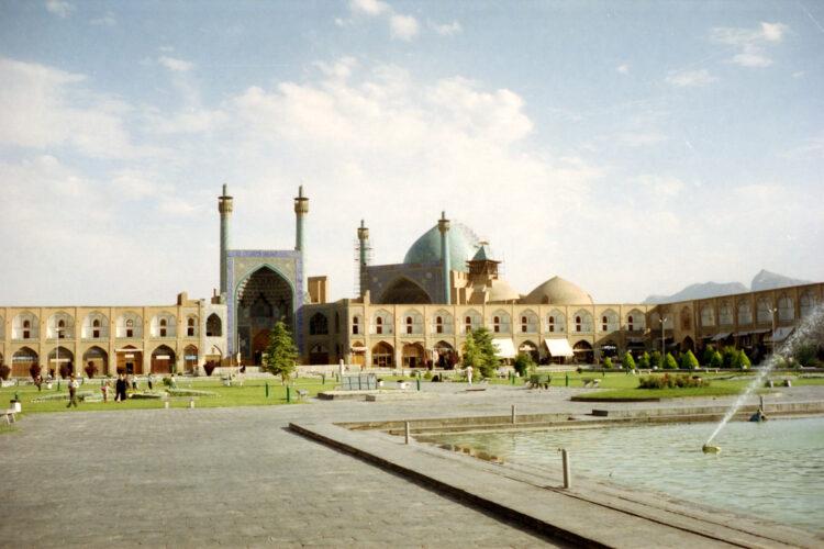 De Shah moskee in Isfahan