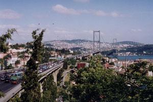 Istanbul, brug over de Bosporus