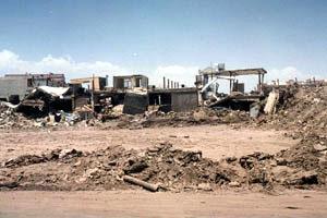 Bam, een half jaar na de aardbeving
