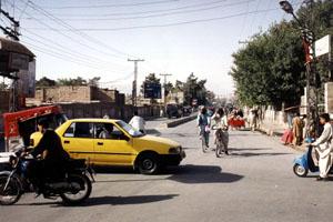 Straatbeeld Quetta