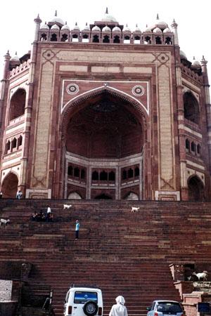 De Jezusmoskee te Fatehpur Sikri