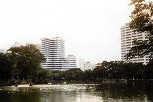 Bangkok, Lumphini park