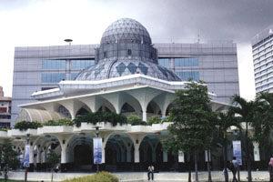 Kuala Lumpur, moskee bij Petronas torens