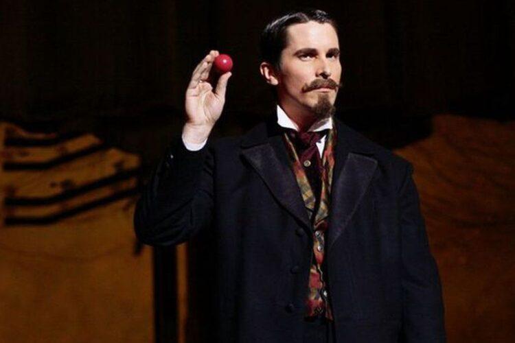 Christian Bale in The Prestige van Christopher Nolan