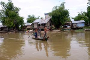 Cambodja, tussen Battambang en Siem Reap