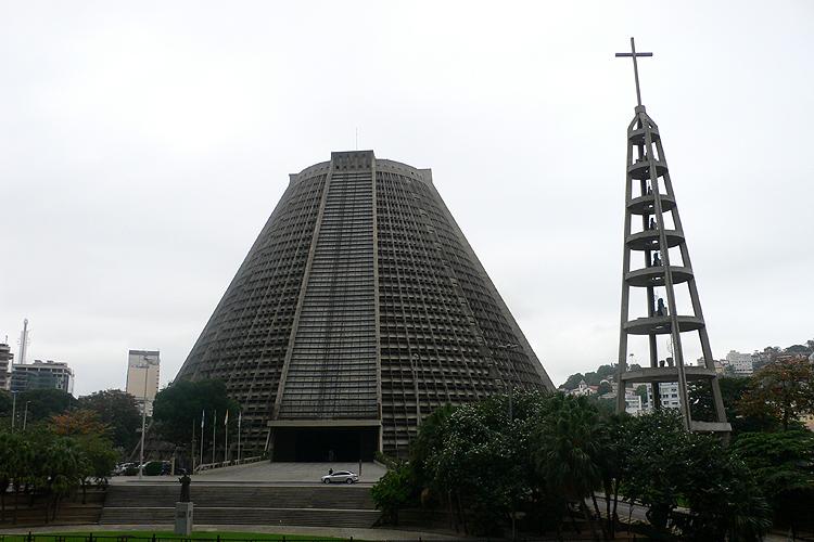 Brazilië, kathedraal van Rio de Janeiro