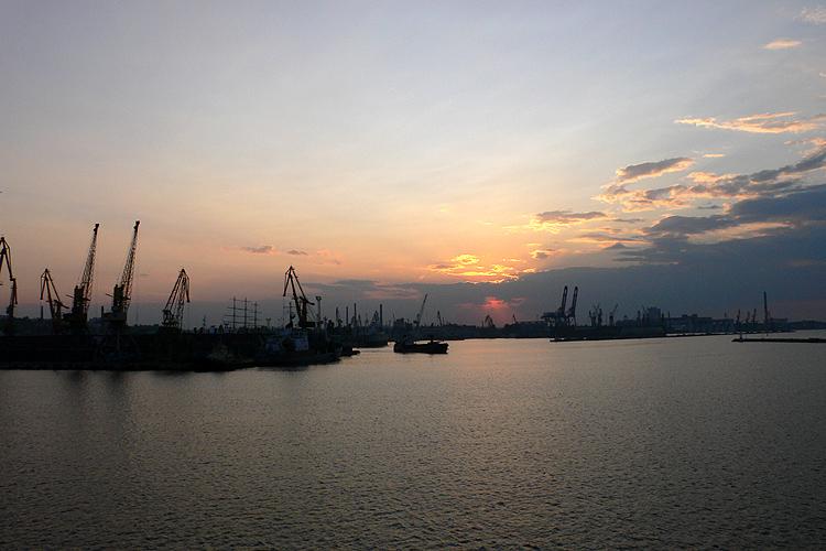 Oekraïne, haven van Odessa