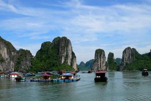 Vietnam, baai van Ha Long