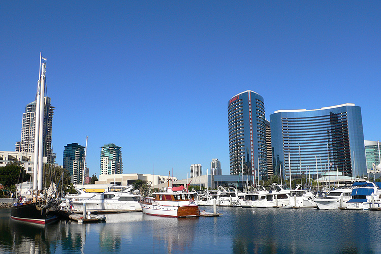 USA, Downtown San Diego