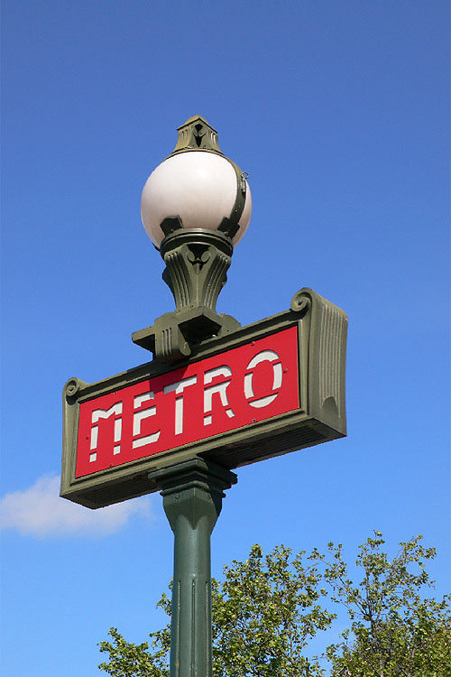 Frankrijk, Metro Parijs