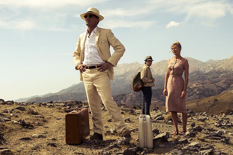 Viggo Mortensen, Oscar Isaac en Kirsten Dunst in The two faces of January