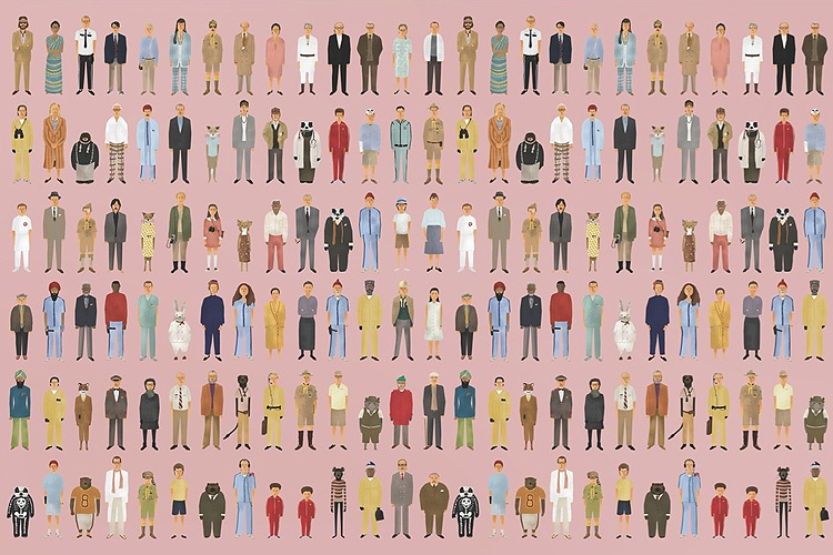 Herken de karakters uit Wes Andersons films