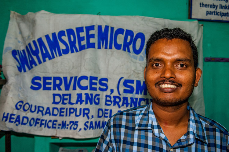 Prayabat Sahoo, branch manager (foto: Opmeer Reports)