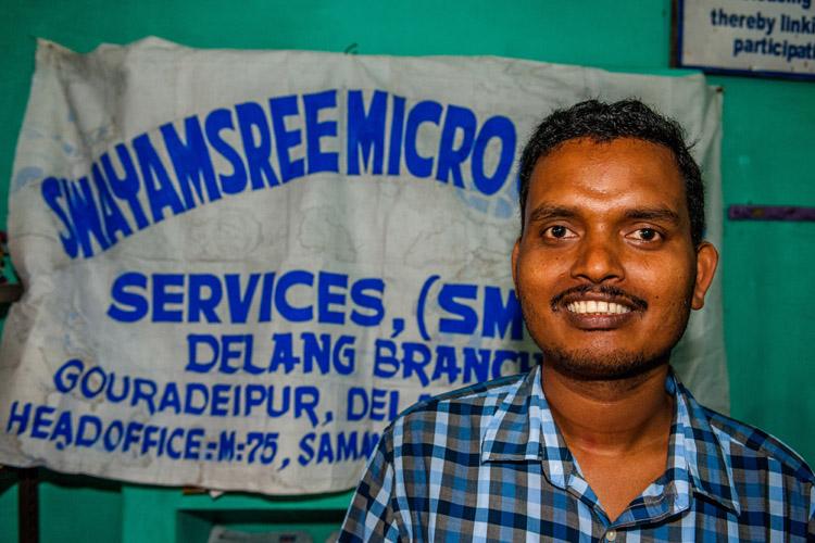 Prayabat Sahoo, branch manager (foto: Opmeer Reports)