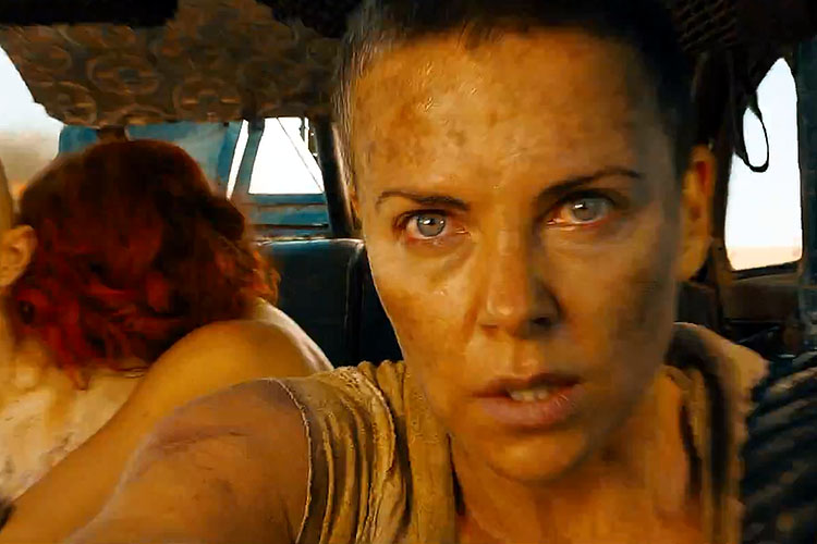 Charlize Theron als Furiosa in Max Max: Fury Road