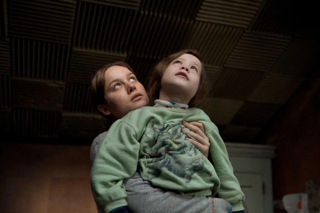 Brie Larson en Jacob Tremblay in Room