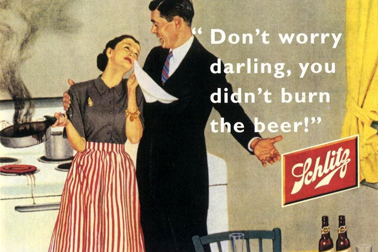 Don't worry darling, you didn't burn the beer