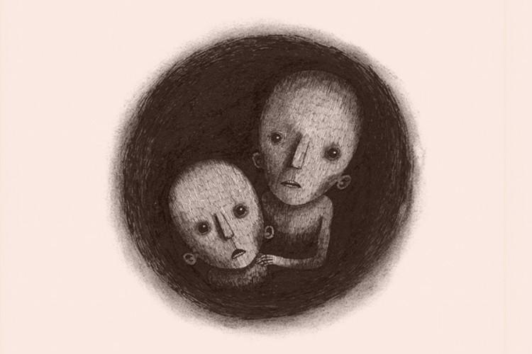 Groot en Klein in de put van Iván Repila