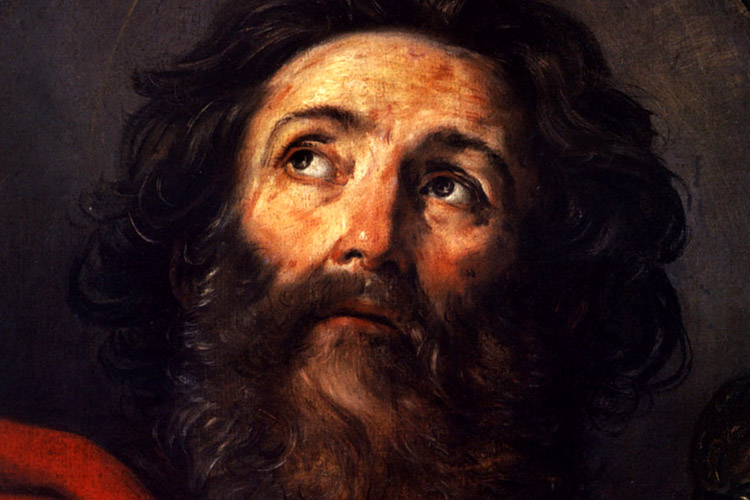 Paulus door Guido Reni (1575-1642), te zien in het Prado