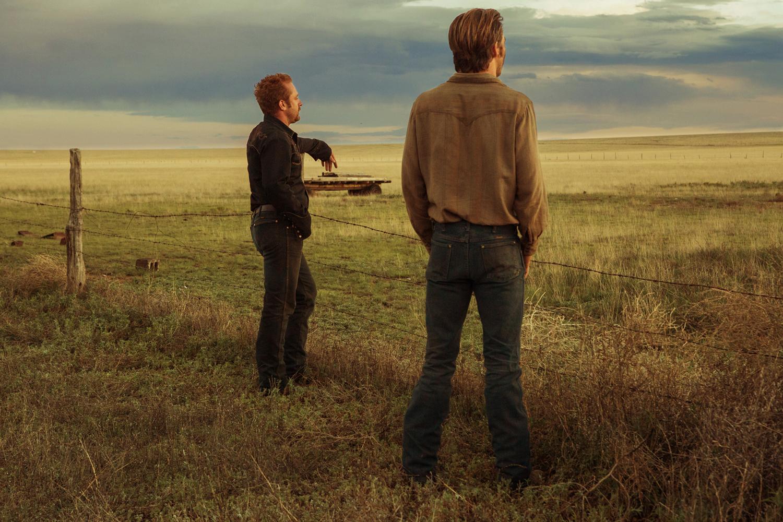 Er hangen altijd donkere wolken boven de prairie in Hell or High Water