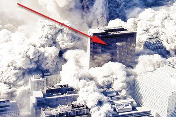 De gedachte dat WTC-7 instortte door explosieven is een centrale stelling in het boek van Coen Vermeeren