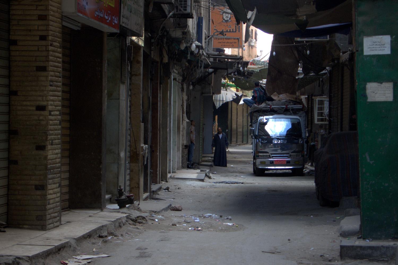 Altijd op je hoede zijn in het Caïro van Parker Bilal (foto:flickr/demonvaska)