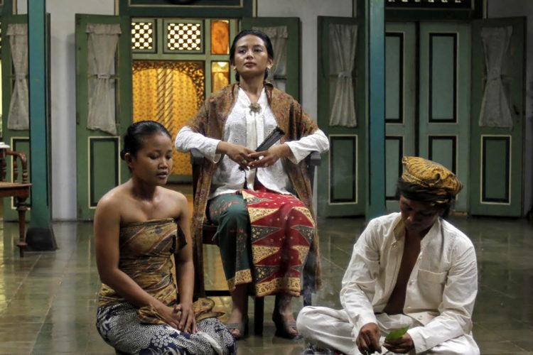 A woman from Jawa