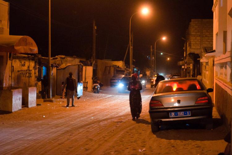 Dakar bij Nacht (foto:flickr/nothing)