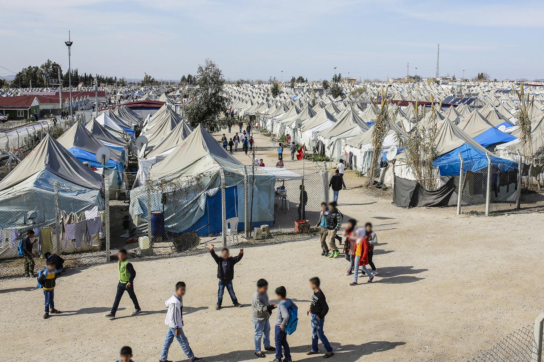 Kamp voor Syrische vluchtelingen in Turkije (foto:flickr/european_parliament)