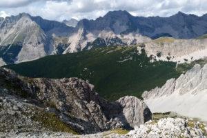 Oostenrijk, Innsbruck, uitzicht vanaf Hafelekar
