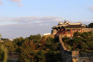 Zuid-Korea, Stadsmuur van Suwon