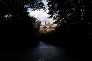 Tsjechië, uitzicht op de Prager burcht