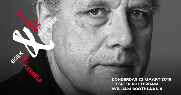 P.F. Thomése komt op 22 maart naar Rotterdam