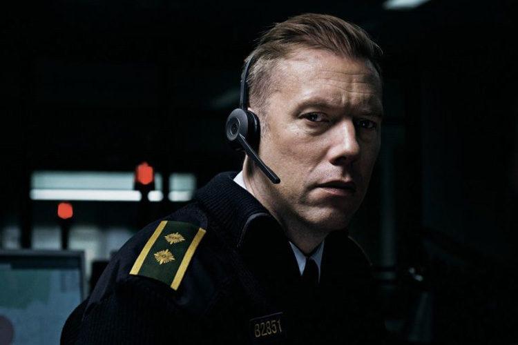 Jakob Cedergren als Asger Holm in Den Skyldige