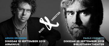 Grunberg en Cognetti op 18 en 25 september bij Boek & Meester