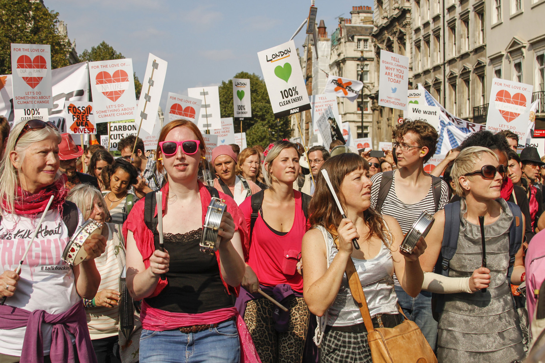 Geen klimaatscepsis te bekennen hier (foto:flickr/openminder)
