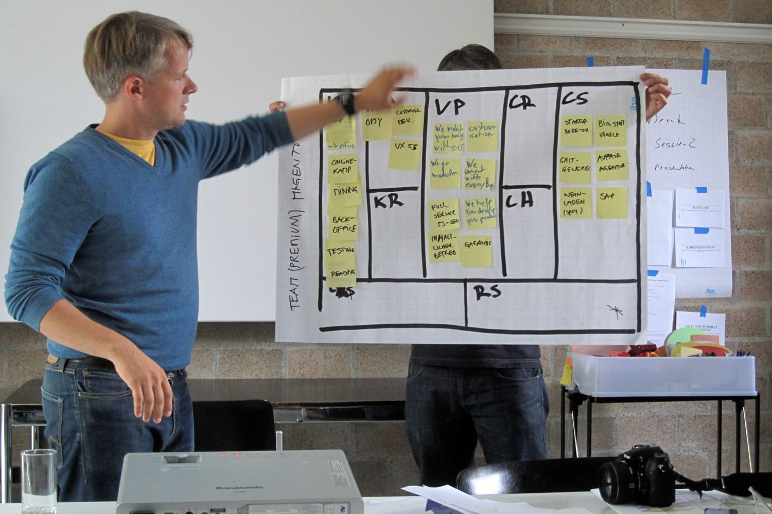 Building a business model (photo:flickr/visualpunch)