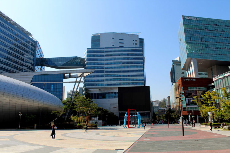 Digital Media City, een hightech wijk in Seoul