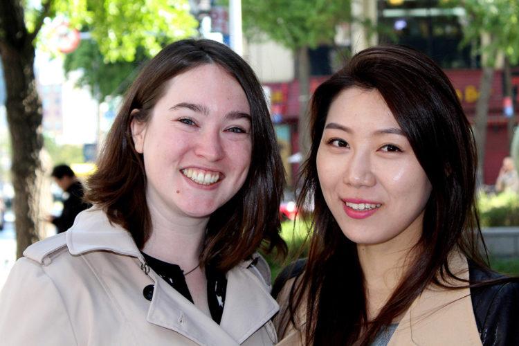 Maira Groot Kormelink en Eugene Chung proberen een Nederlandse startup in Korea voet aan de grond te geven