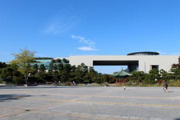 Het nationale museum van Zuid-Korea, ook aan de binnenkant groots opgezet