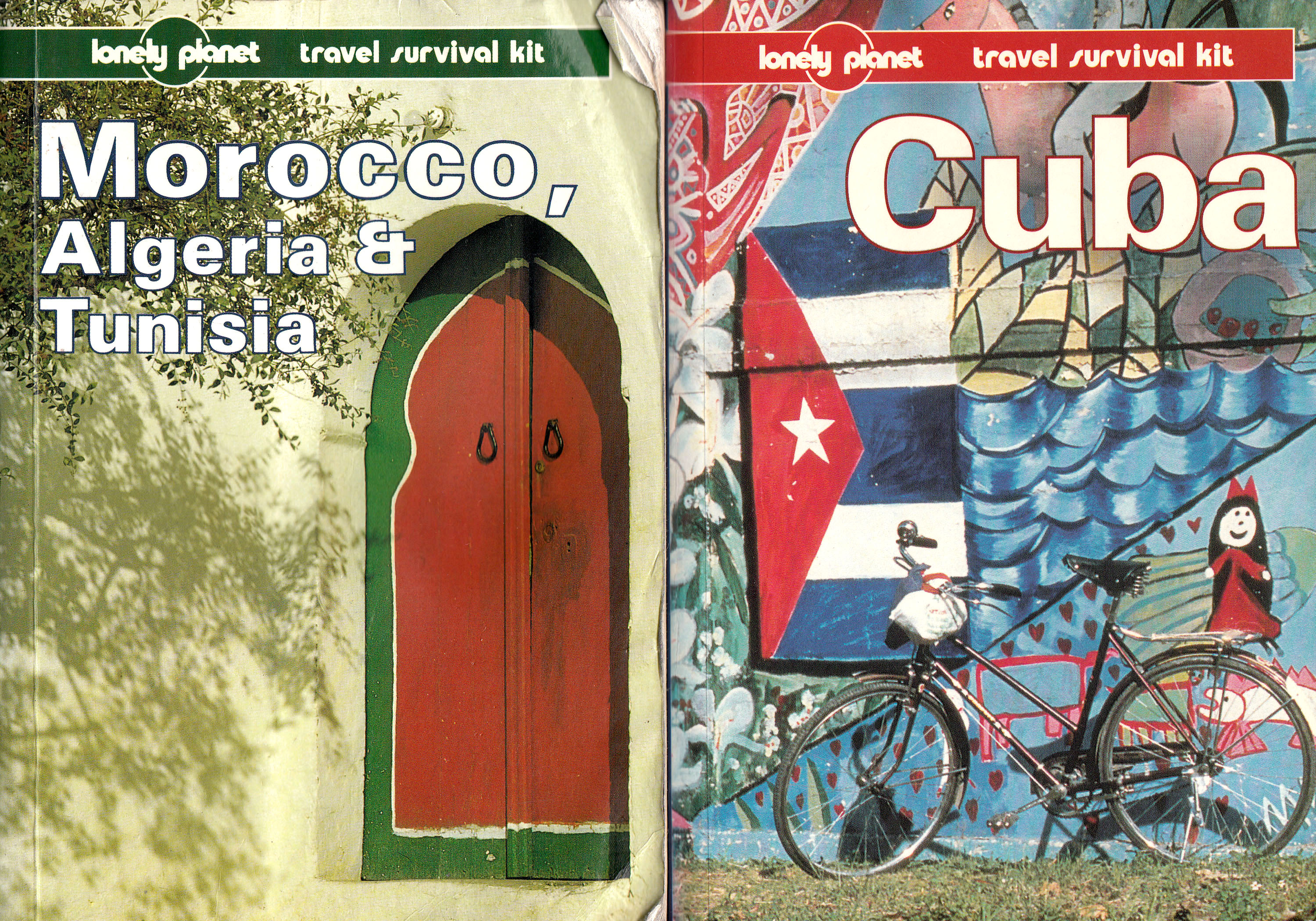 Lonely Planet Maghreb (1992) en Cuba (1997)
