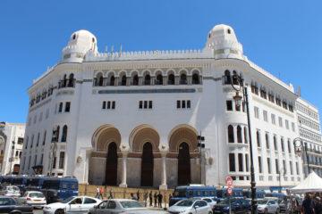 Grande Poste is het centrale gebouw van Algiers