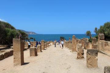 Tipasa is een uitje voor gezinnen uit Algiers
