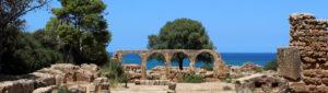Tipasa, een van de vele oude Romeinse steden in Algerije