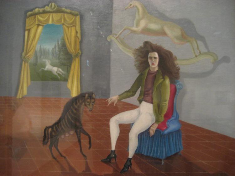 Leonora Carrington, zelfportret
