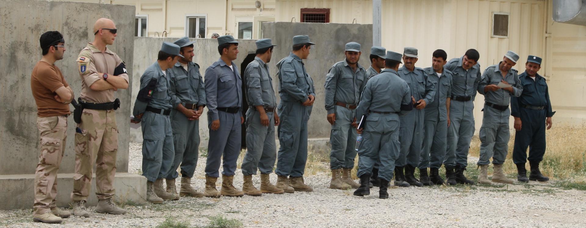 Politietraining in Kunduz, 2013 (foto:flickr/eupolafgmedia)