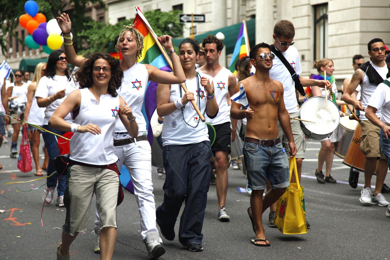 Feestende homo's (foto:flickr/estepaniko)